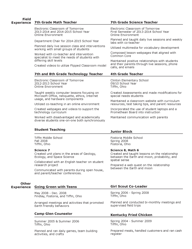 Stunning Nhl Accounting Resume Pictures - Best Resume Examples and ...